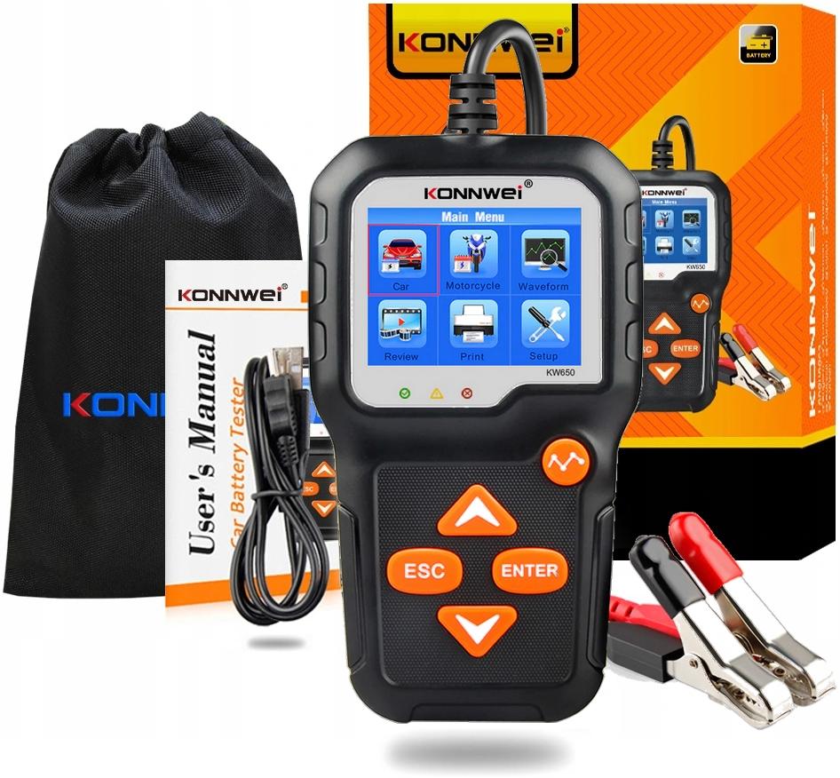 Instrukcja Konnwei KW650